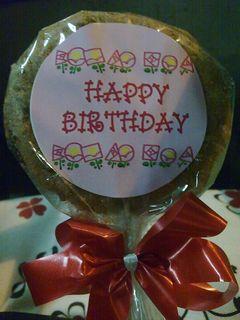 Birthday Cookie ①